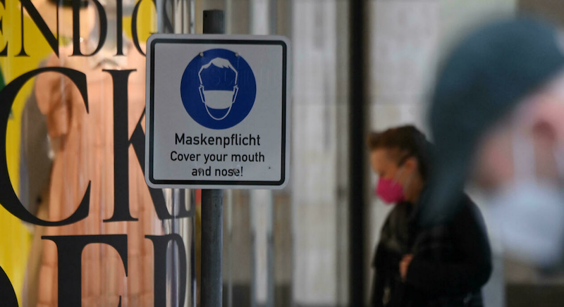 Shock in Germany after 20-year-old cashier shot dead in mask row