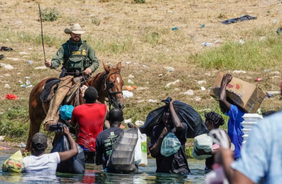 When American 'Christians' turn away the Haitian people, they turn away from Jesus Christ