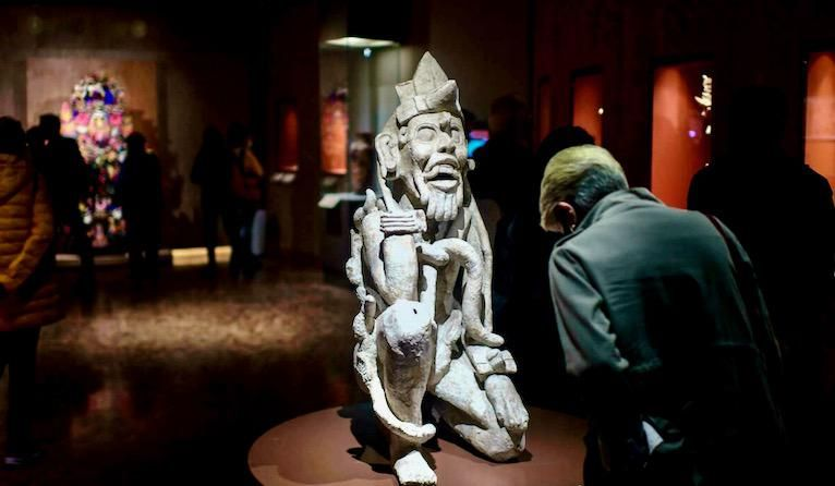 Mexican exhibit showcases recovered ancient treasures