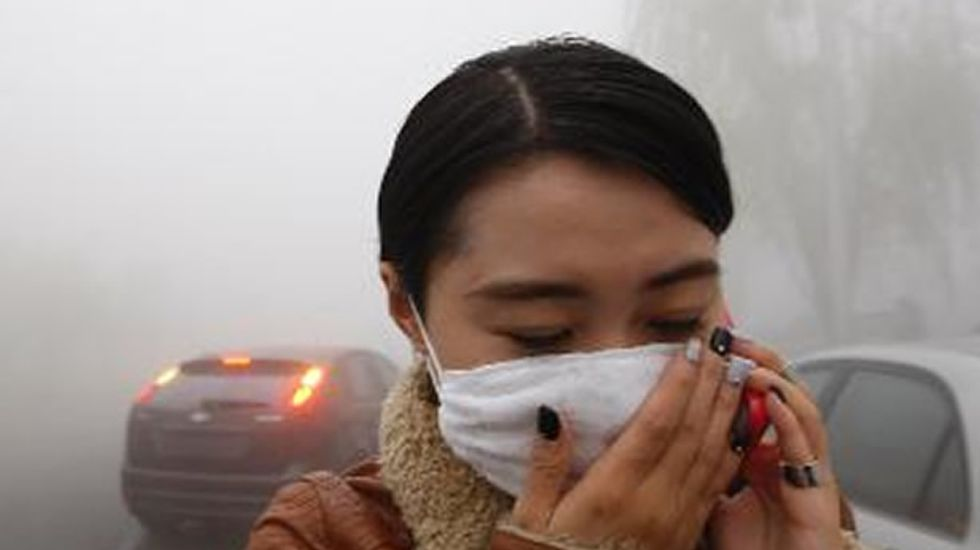 Chinese 'airpocalypse' comparable to conditions in severe California forest fire