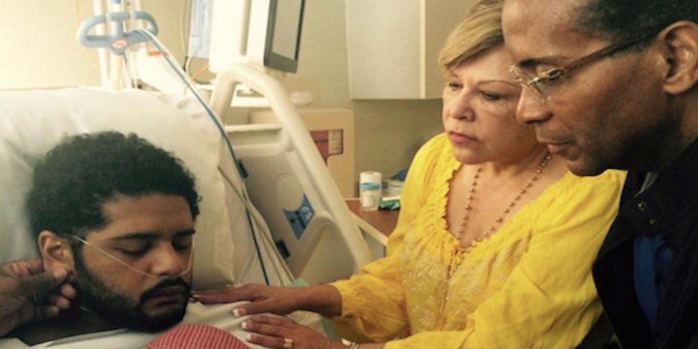 Houston cops shoot unarmed black patient in hospital -- and then charge him with assault