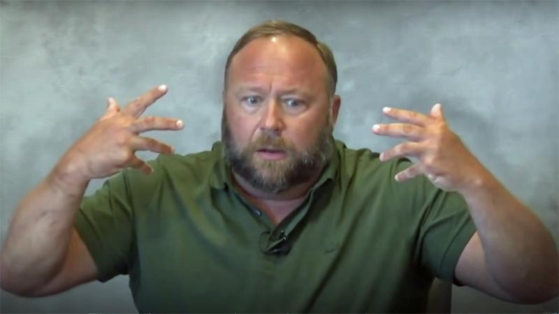 Alex Jones fumes after judge rules he must pay for his Sandy Hook conspiracy theories