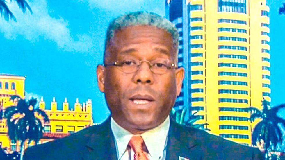 Unvaxxed Allen West announces Covid symptoms that he is treating with hydroxychloroquine and Ivermectin