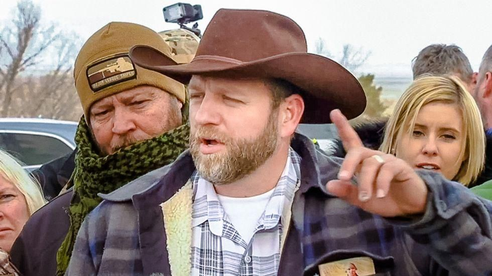 Ammon Bundy has amassed an army of over 50,000 as he looks for his next battle in a religious war