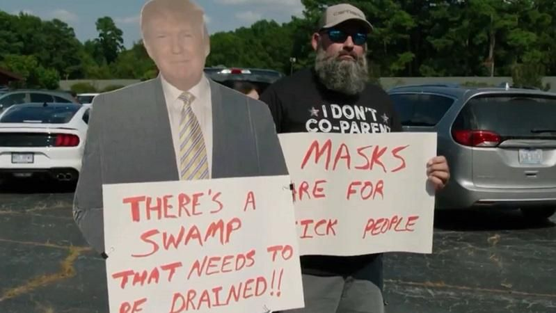 Daily Show's Jordan Klepper takes down anti-mask protesters at North Carolina school board meeting