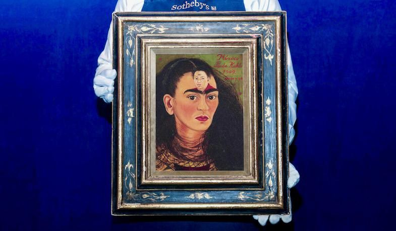 Frida Kahlo self-portrait set to smash records at auction