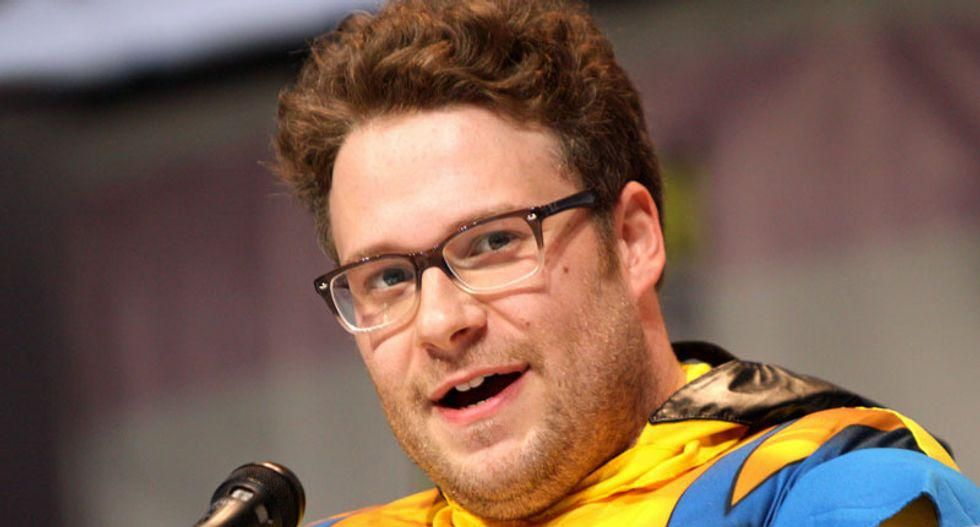 Seth Rogen jokes about 'WAP,' indoor ceremony during COVID at Emmys
