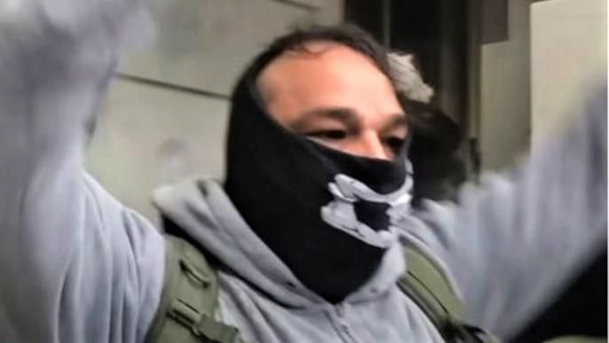 'Unapologetic' Proud Boy MAGA rioter busted thanks to his easily identifiable knuckle tattoos: feds