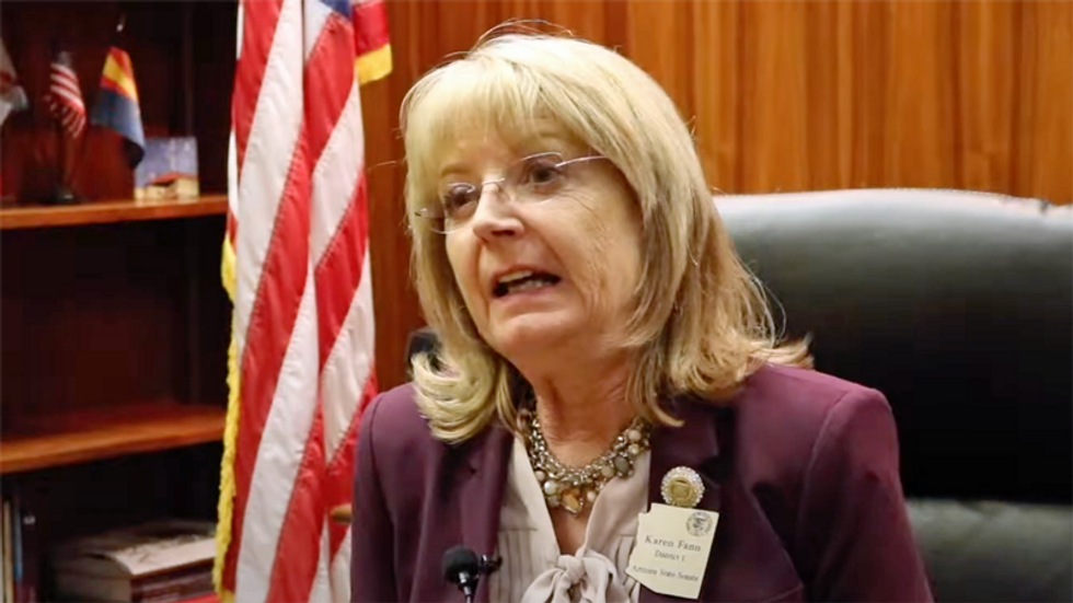 Arizona Republicans' attempt to hide 'audit' documents from the public goes down in flames