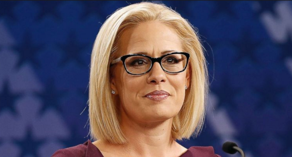 'Carrying water for big corporations': Sinema faces backlash for opposing tax hikes