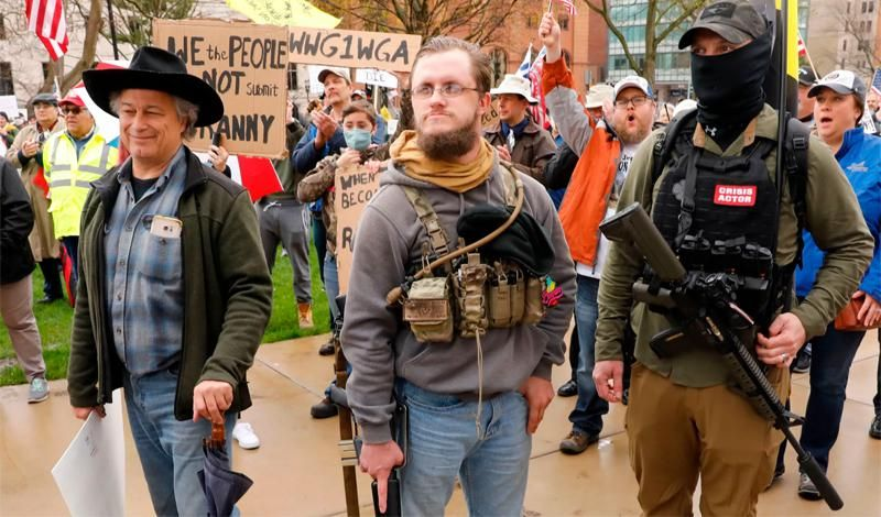 Right-wing rallies flop as extremists head underground following Capitol riot blowback