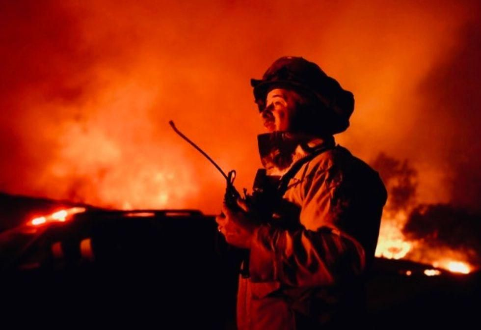 'Wildfire year' meant record days at the highest preparedness level: Forest Service chief