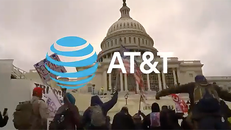 Lincoln Project creates mock AT&T ad promoting the company's funding of 'white nationalist' on OAN