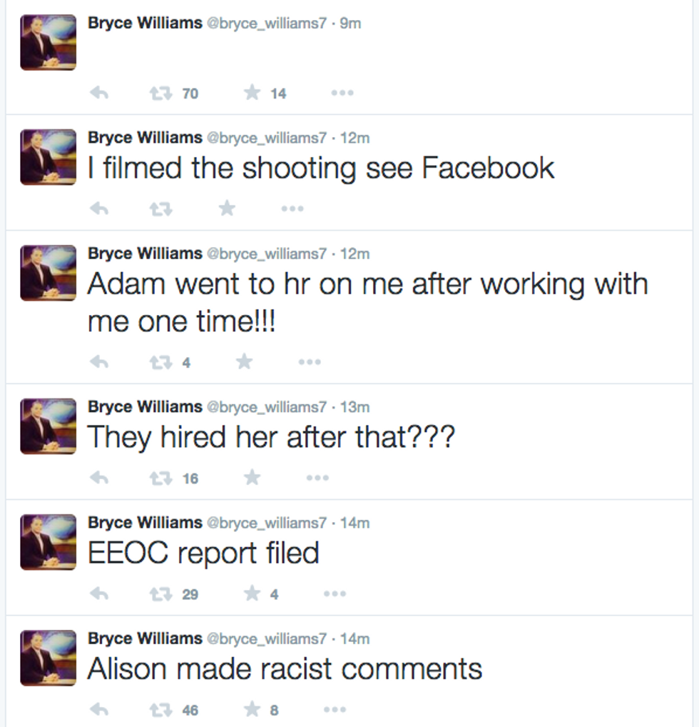 Bryce Williams Twitter