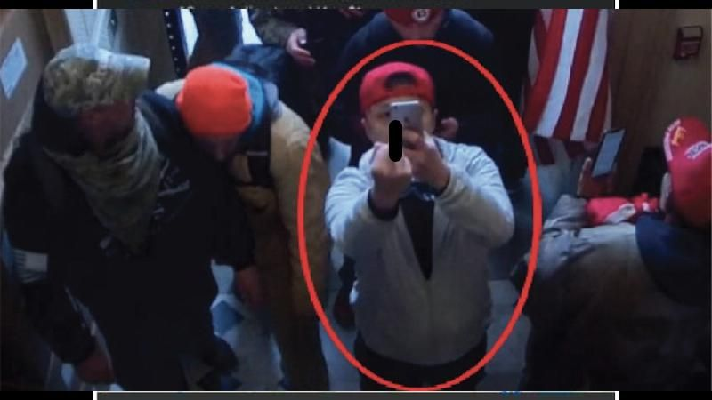 MAGA rioter denied responsibility for breaking into Capitol -- and pointed the finger at Antifa instead: feds