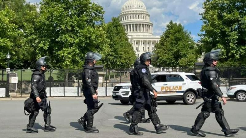 Capitol Police recommends disciplinary action against six officers for Jan. 6 misconduct
