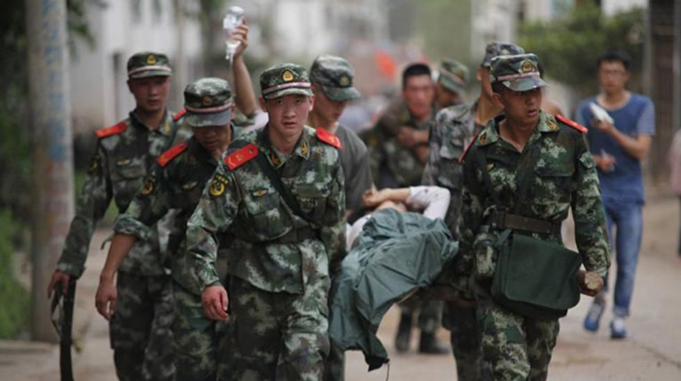 6.1 earthquake in southwest China kills at least 367, injures almost 2,000
