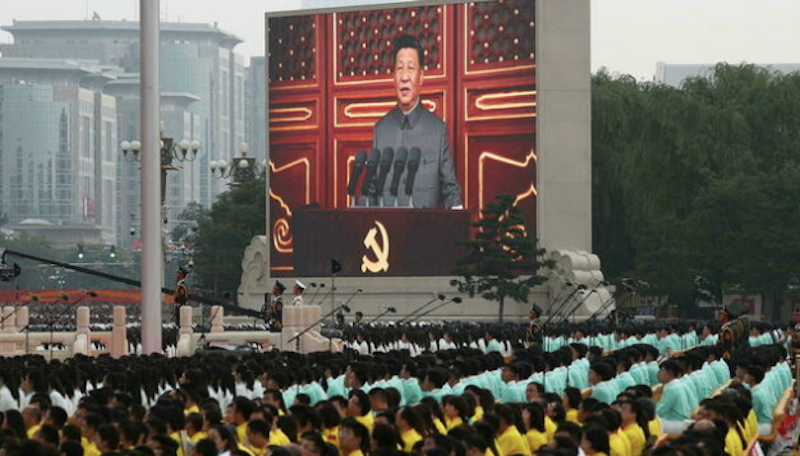 Xi says no more 'bullying' China at celebration for centenary of Communist Party