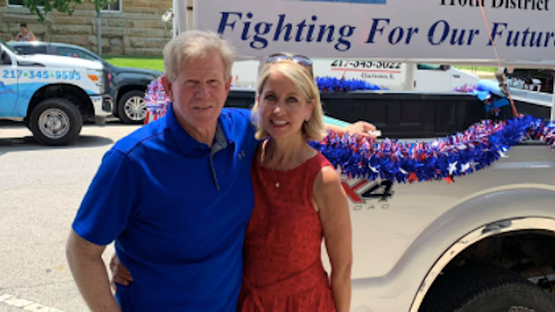 GOP lawmaker's husband linked to Three Percenter pickup parked outside Capitol during insurrection