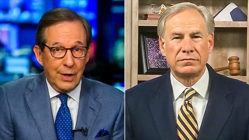 'We couldn't find one instance': Chris Wallace grills Greg Abbott for ignoring migrant sex abuse under Trump