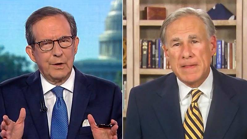 Chris Wallace grills Greg Abbott for allowing 15,000 rapes before signing 6-week abortion ban