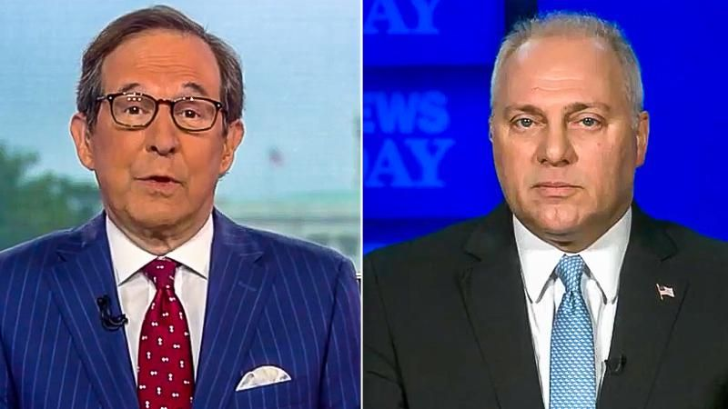 'So you think the election was stolen?' Chris Wallace corners Steve Scalise for repeating Trump's lies