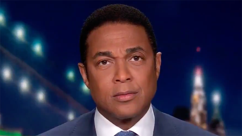 WATCH: CNN's Don Lemon hilariously buries conservative 'snowflakes' whose feelings were hurt by Trump loss