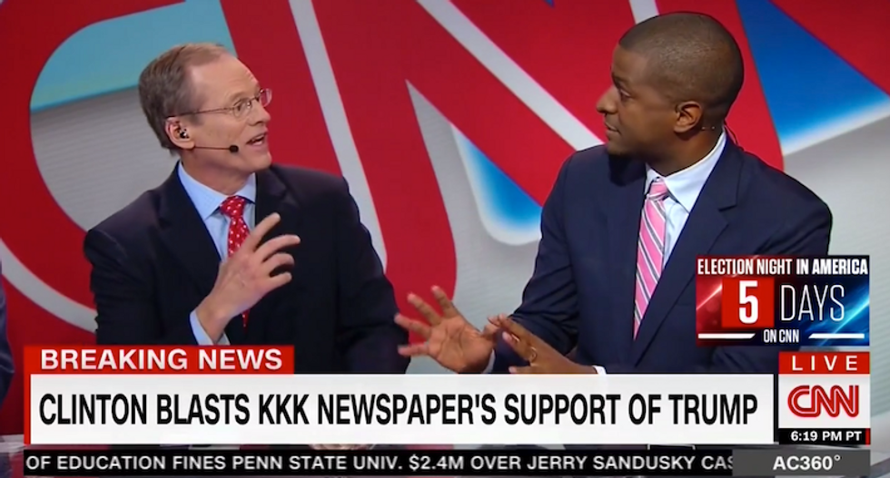 CNN panel goes off the rails when Jeffrey Lord claims the KKK was the military arm of the Democratic party