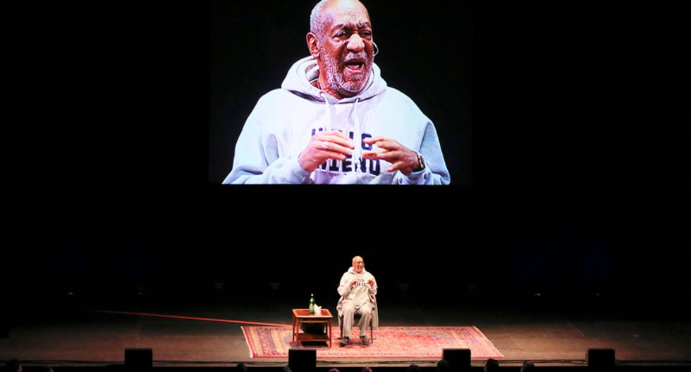 Bill Cosby thanks fans called 'rape supporters' by protesters outside Denver theater