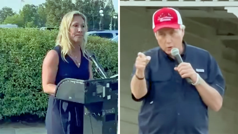TrumpWorld chaos as QAnon congresswoman publicly trashes Lin Wood: 'He's not one of us'