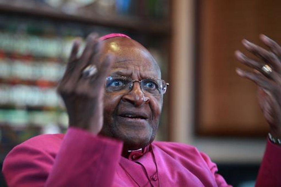 Bishop Desmond Tutu 'glad' Mandela not alive to see current state of S. Africa