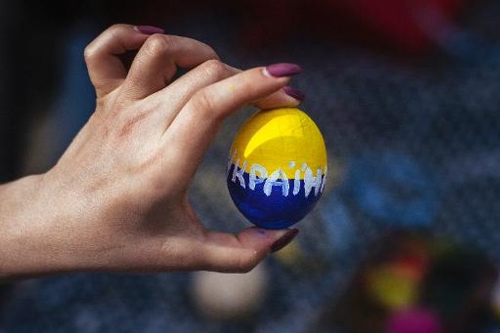 Religious war of words breaks out between Russia and Ukraine on Easter
