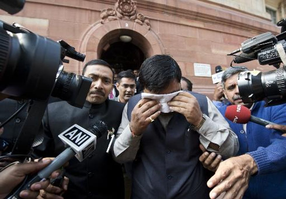 India's disruptive, pepper-spraying parliament branded a 'disgrace'