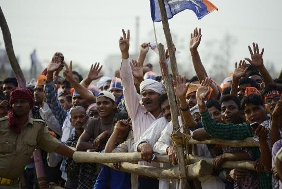 India election campaign ends with conflicting visions