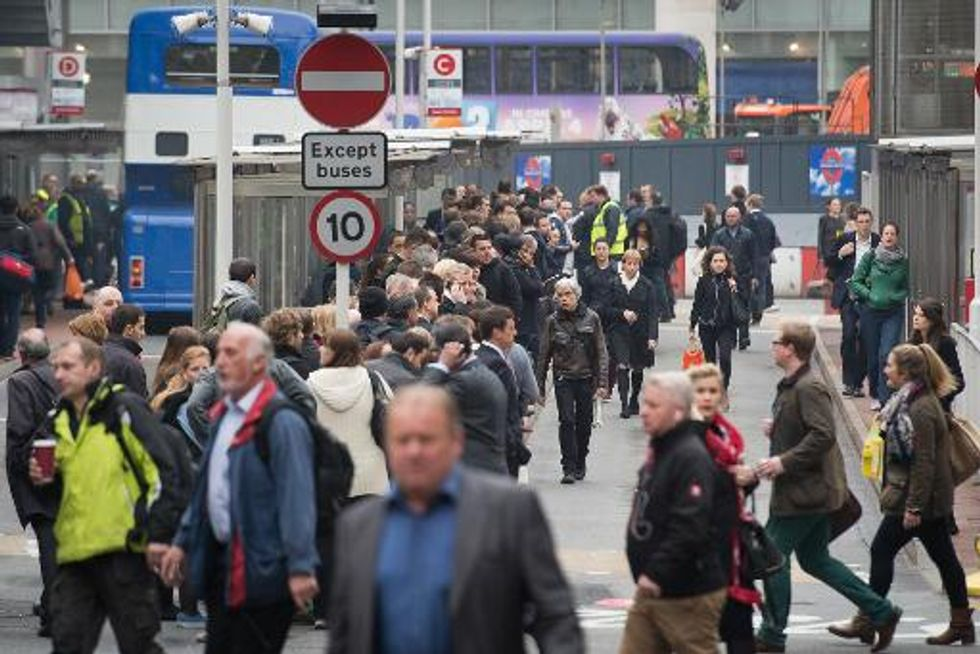 Crowds and congestion as London Underground strike hits commuters