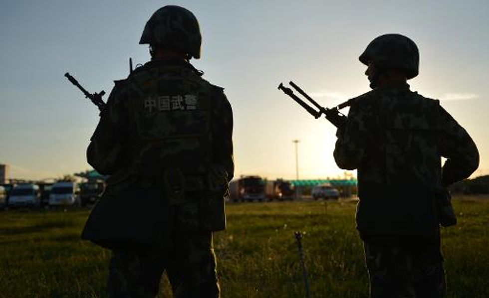 8 'terrorists' shot dead after attack in China's Xinjiang province