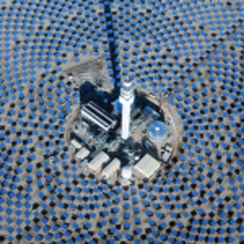 Giant solar battery made of salt ready to charge up