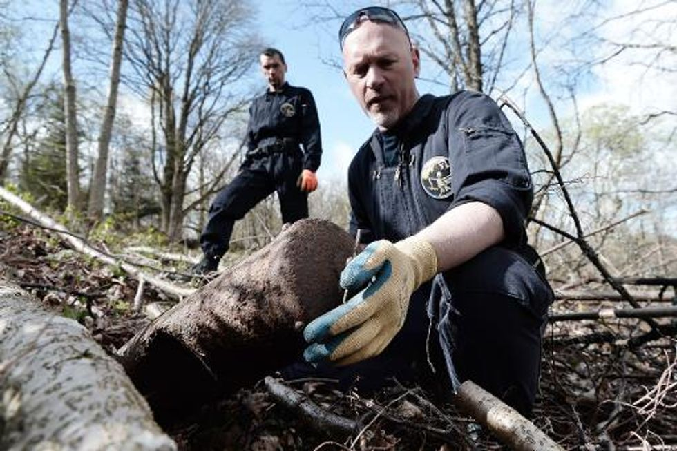Mine-clearers tackle deadly WWI legacy in France one hundred years later