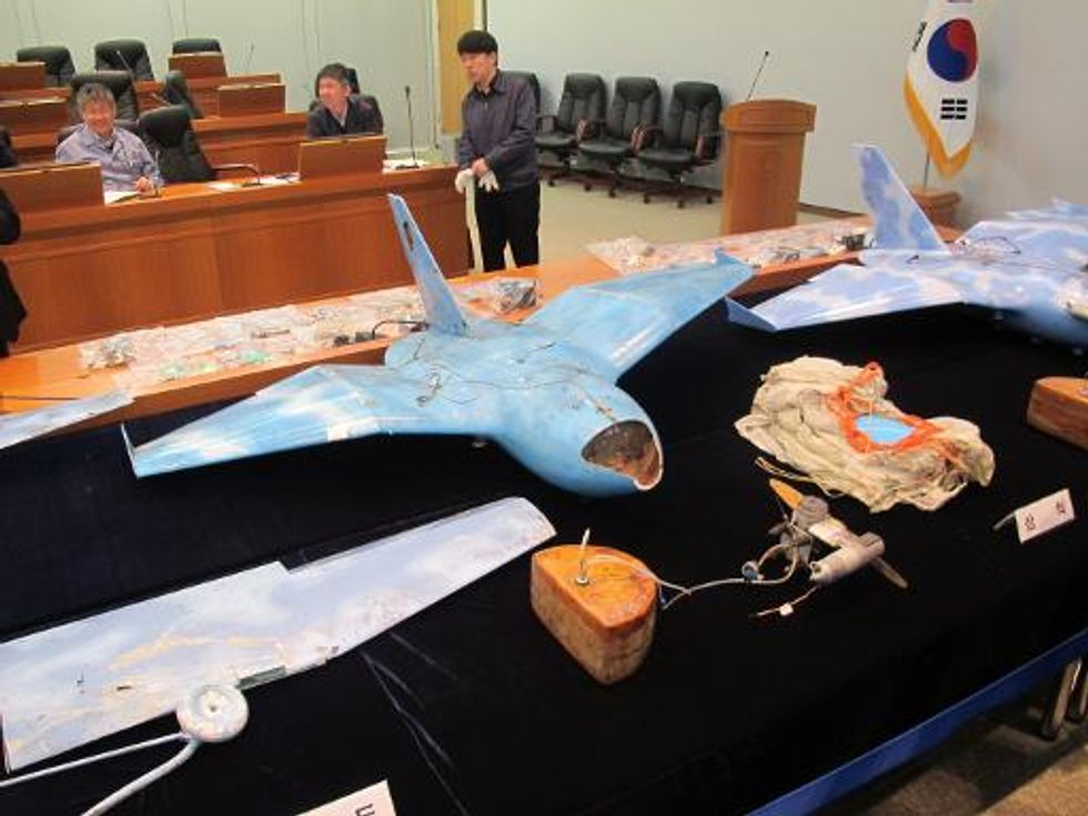Two Koreas in heated exchange over spy drone controversy