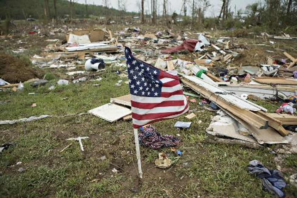 New tornadoes thrash the South, killing 19 people in two days