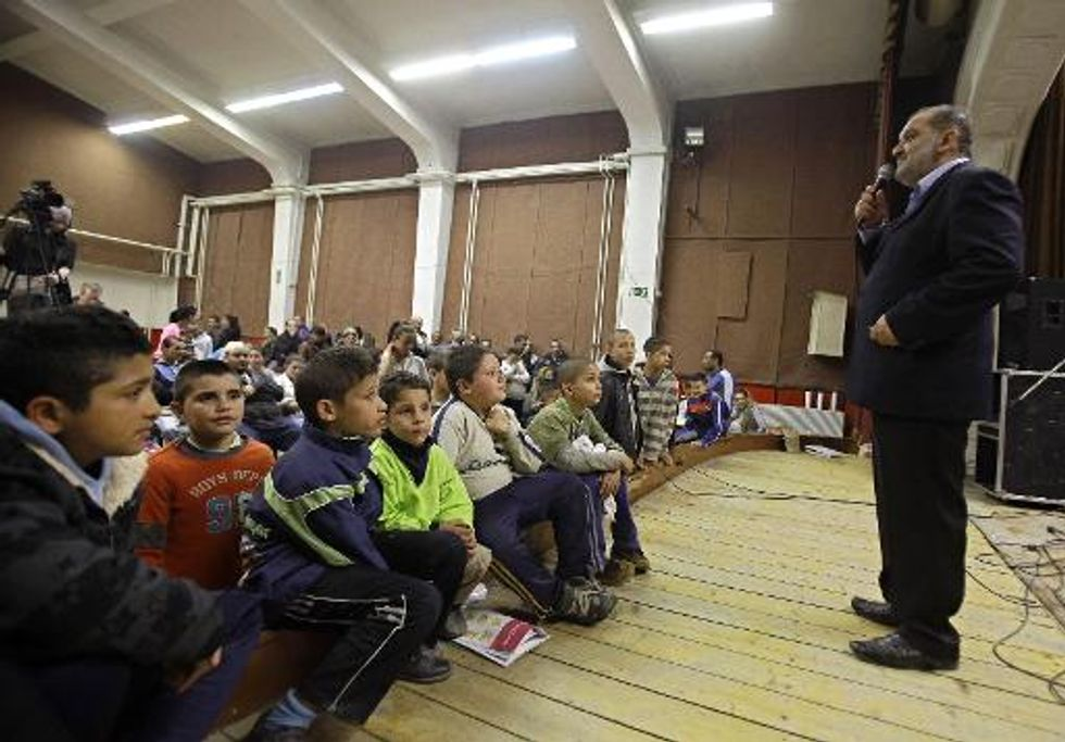 New political party tries to woo Hungary's Roma community