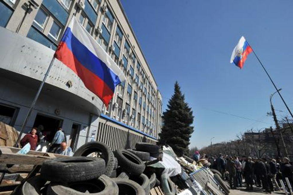 Pro-Russian militants free 56 Ukrainian 'hostages'