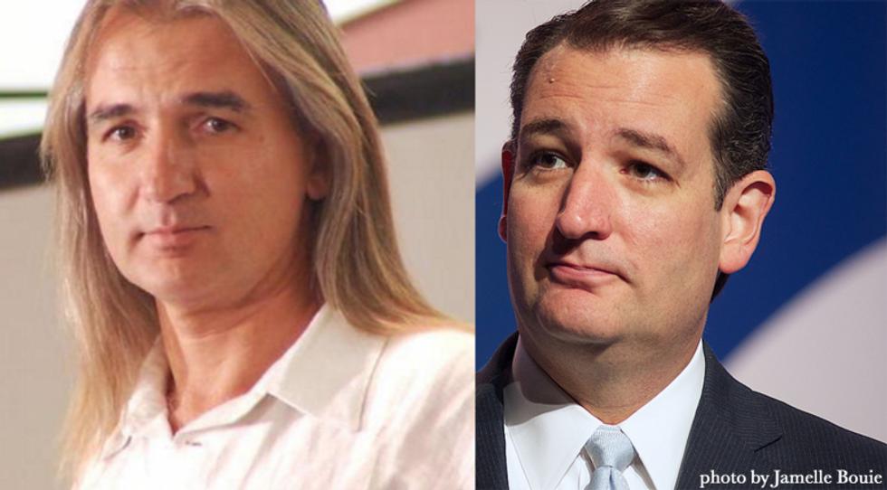 Cult leader Ted Cruz or David Duchovny