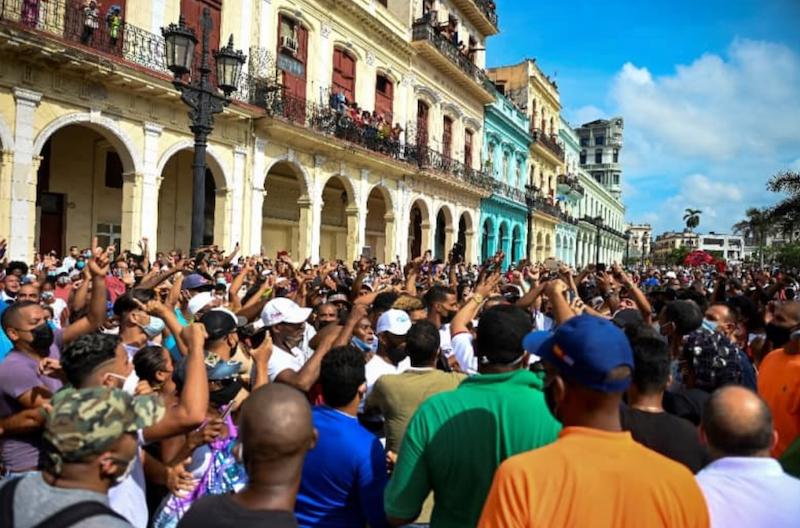Cuban government bans bid for new protests