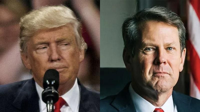 Trump's inner circle scrambling to find challenger to oust Georgia Gov. Brian Kemp: report