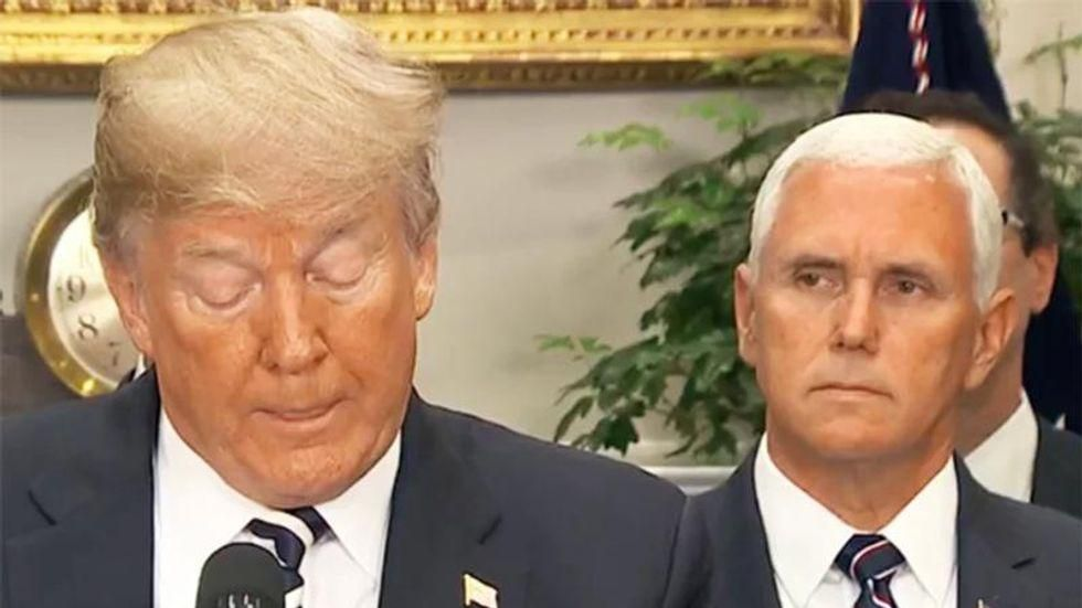 'Is there no low to which you will not stoop?': Mike Pence flattened for siding with the 'mob' over the government