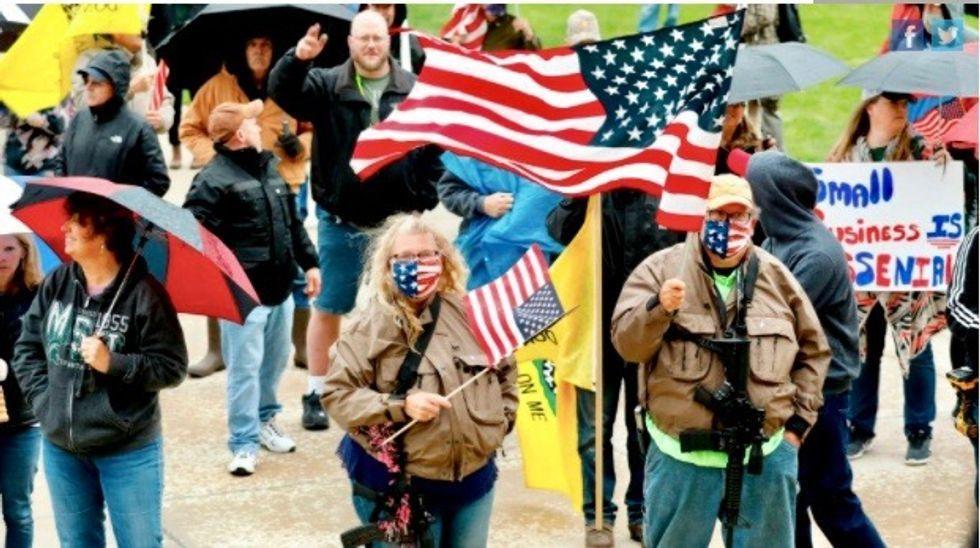 'Downright dangerous': Trump promotion of Michigan rally decried as 'childish, petulant'