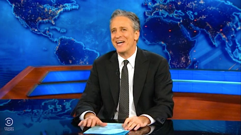 Jon Stewart mocks Hannity's obsession with the 'tragic results' of spring break twerking