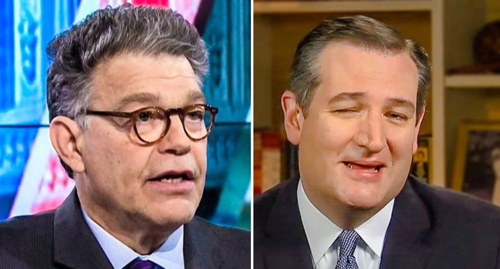 He's 'exceptionally smarmy': Al Franken spells out why he 'hates Ted Cruz'