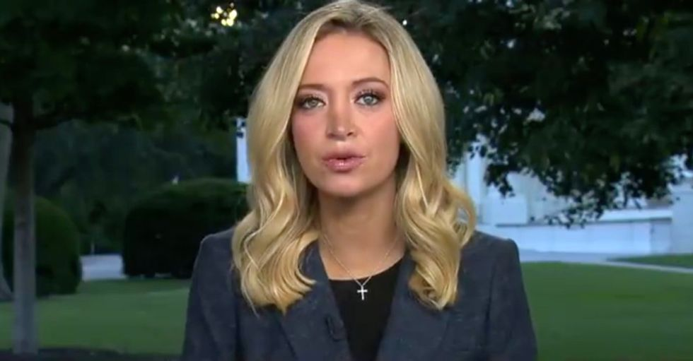 Reporters slam Kayleigh McEnany for 'endangered lives' by not quarantining and briefing without a mask